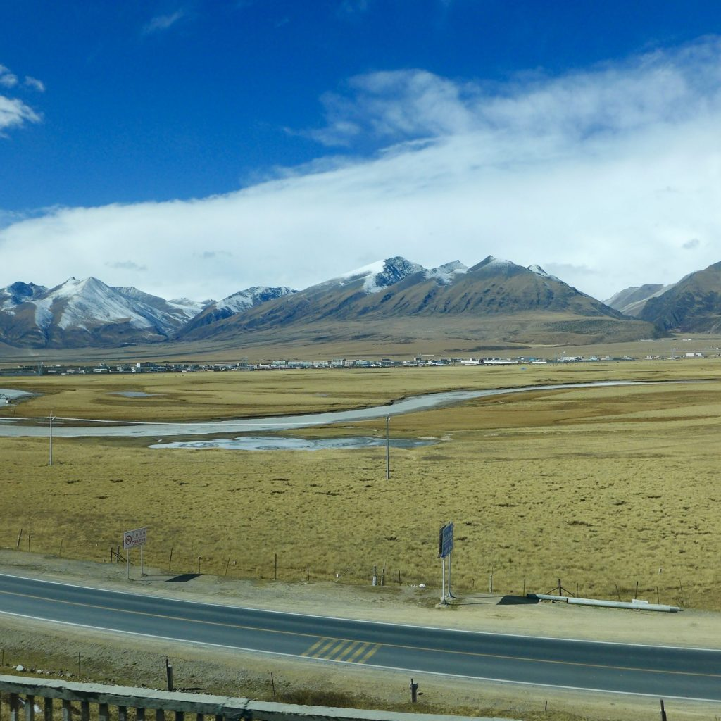 Vue Du Train (Xining - Lhassa)