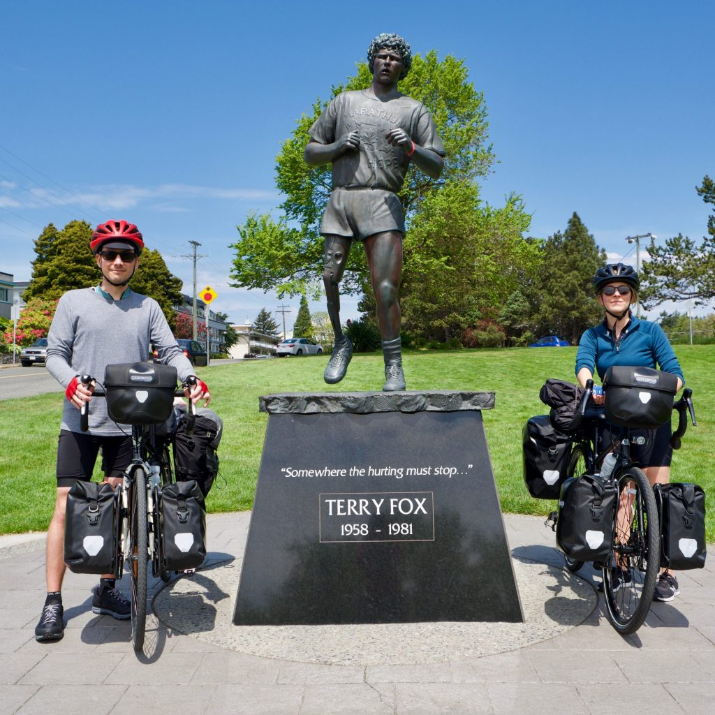 Statue De Terry Fox à Mile 0