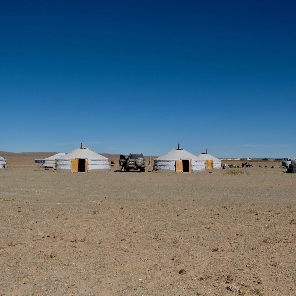 Camp De Yourtes
