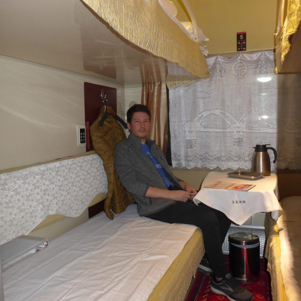 Notre Cabine (Train Xining - Lhassa)
