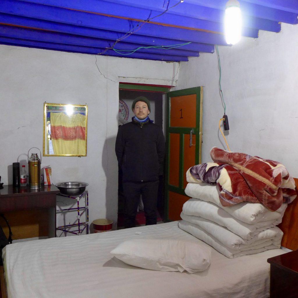 Notre Chambre Dans La Maison D'hôte Du Monastère De Rongbuk