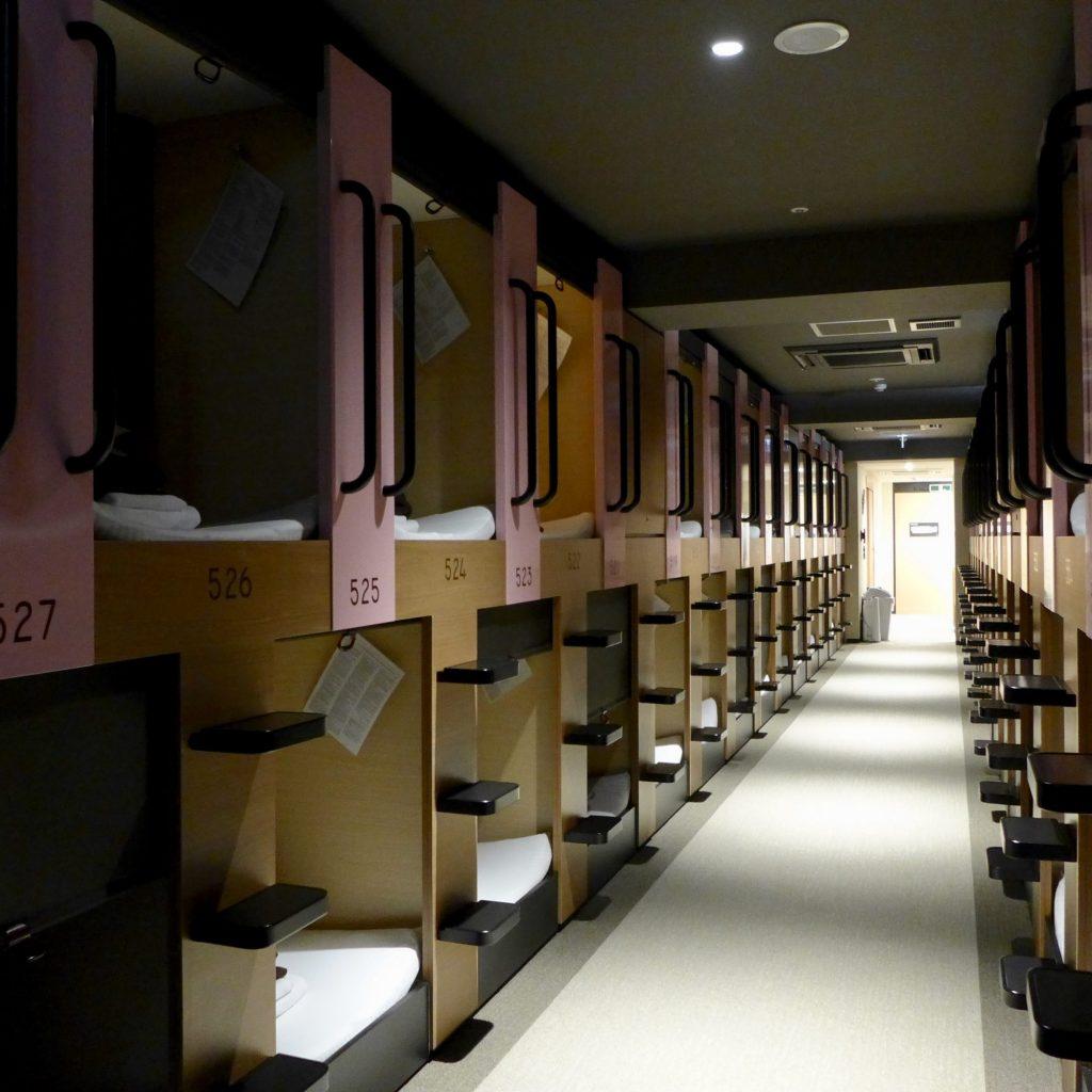 Couloir Du Capsule Hôtel