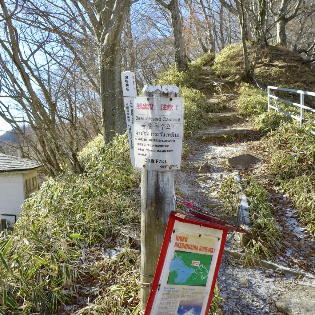 Entrée Du Sentier - Lake Chuzenji Observatory Trail