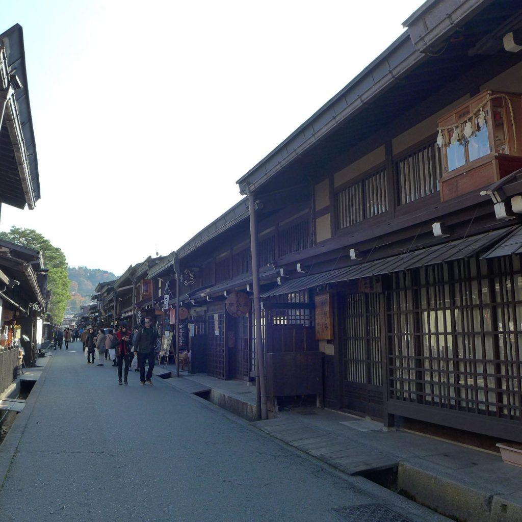 Rue Commerçante De Takayama