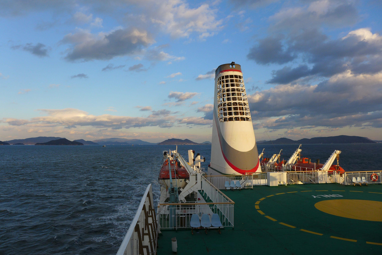 De Shanghai à Osaka En Ferry