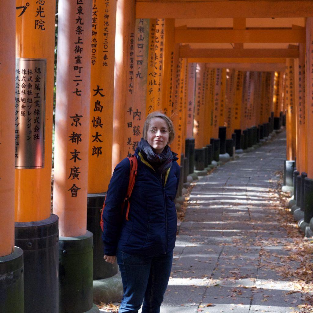 Allée De Torii - Sanctuaire FushimiInari Taisha