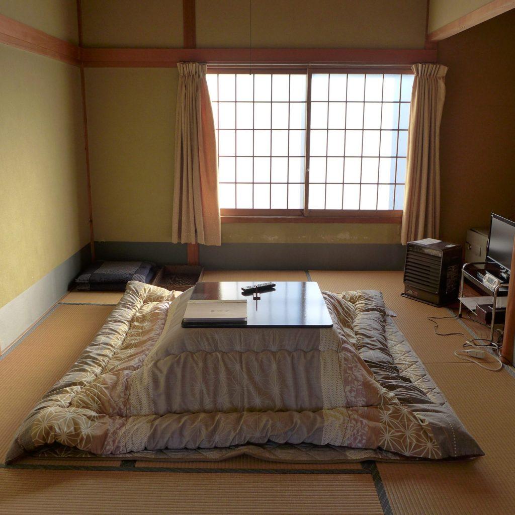 Chambre Dans Le Temple Bouddhiste