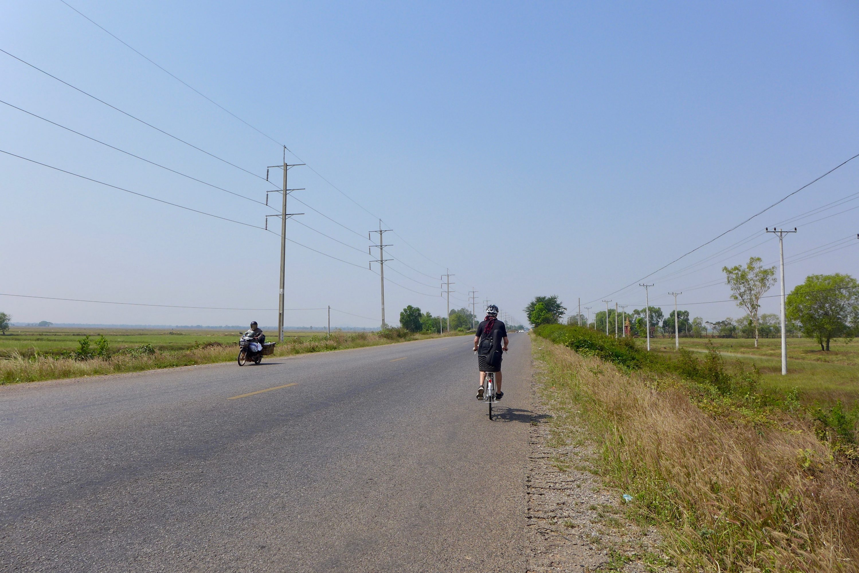 En Route Vers La Thaïlande