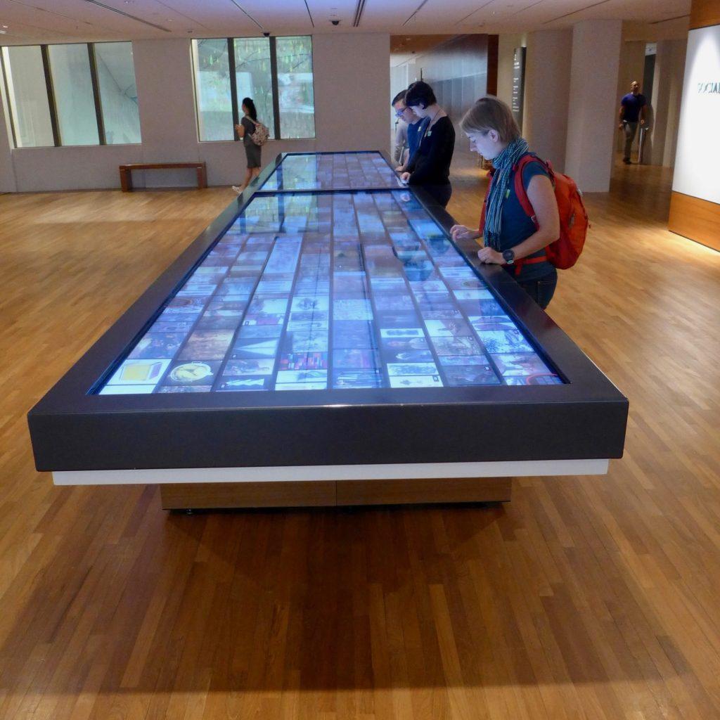 Écran Géant Tactile - Galerie Nationale