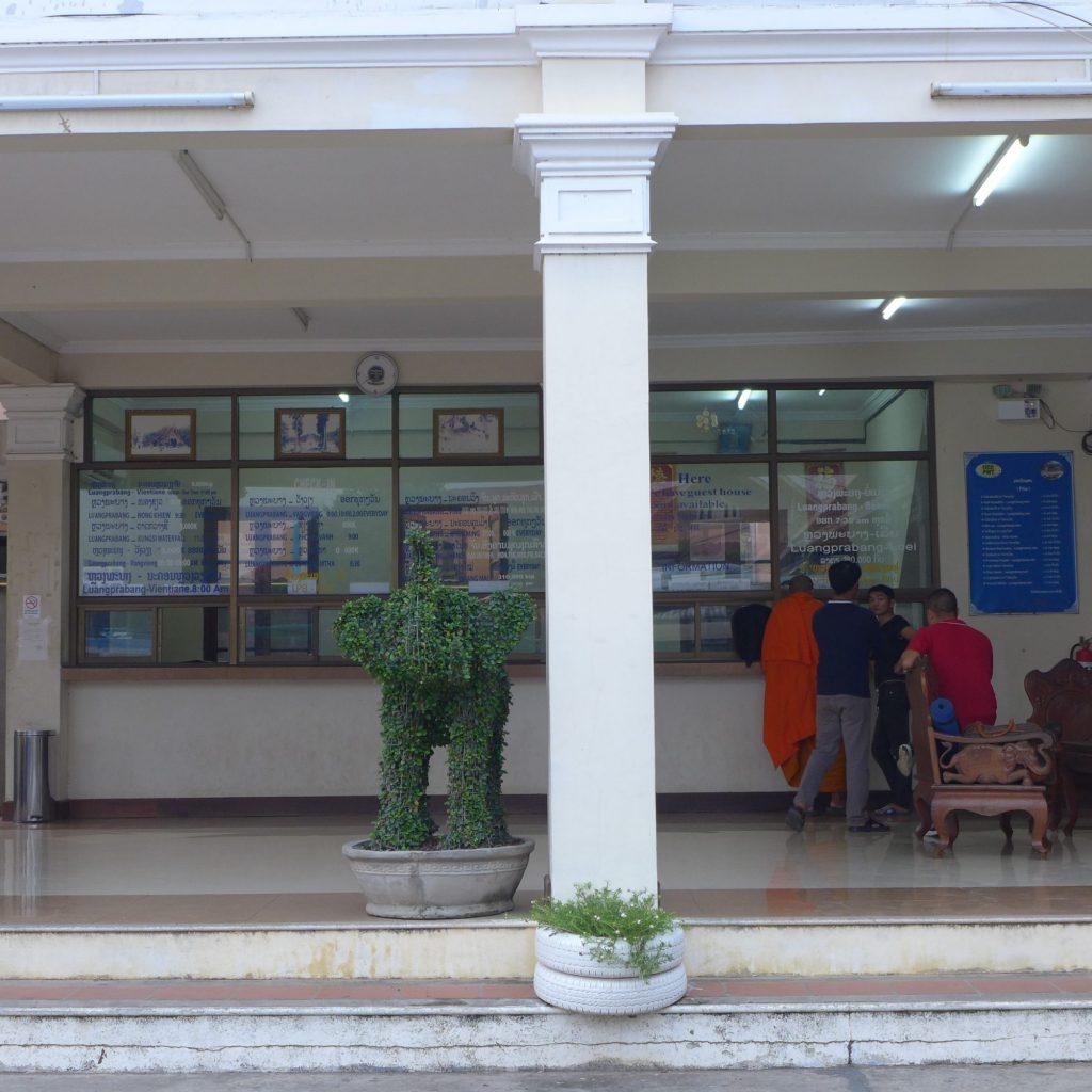 Guichet - Gare De Luang Prabang