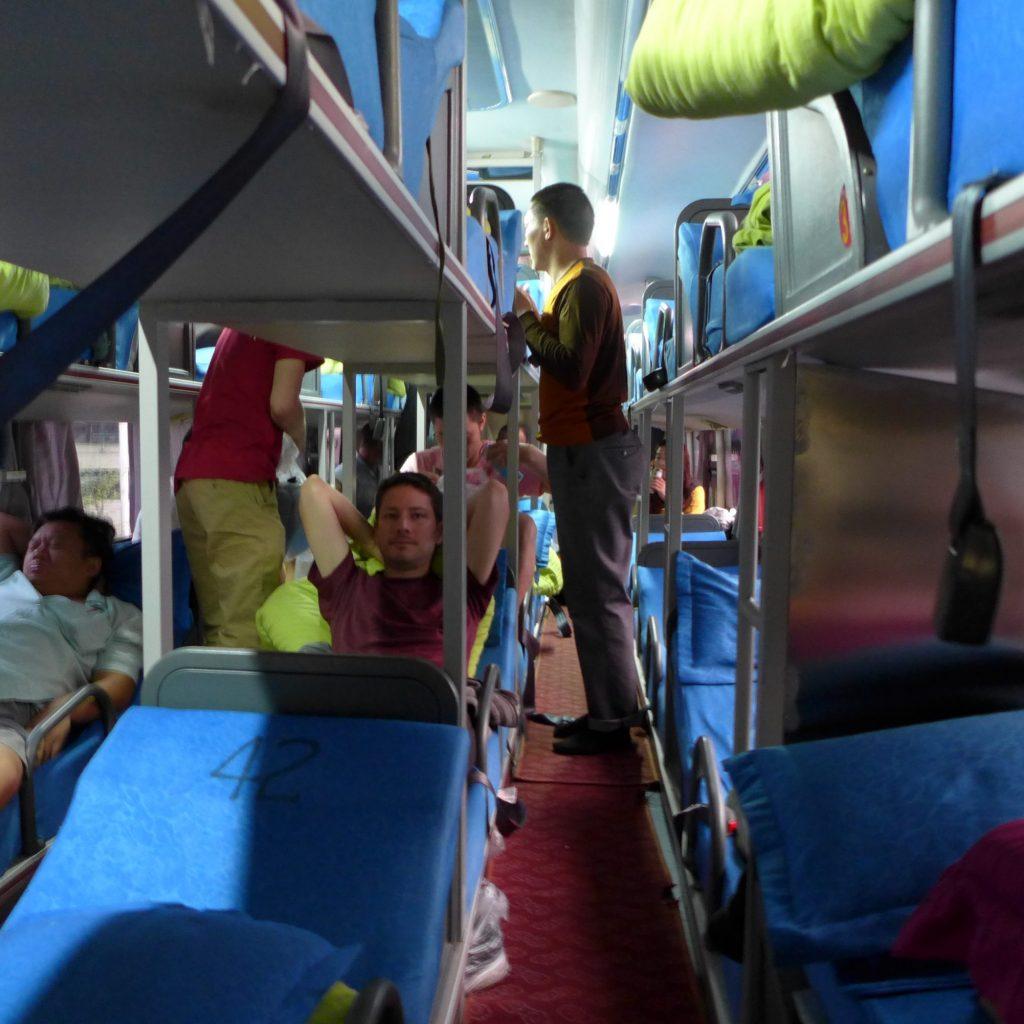 Intérieur Du Bus