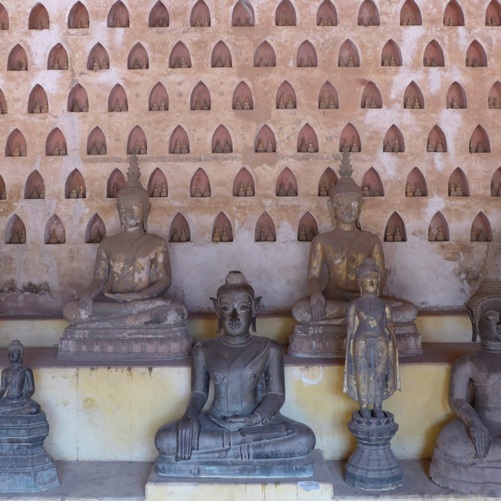 Vat Sisakhet - Collection De Statues De Bouddha
