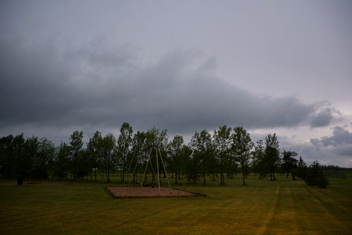 L'orage se prépare