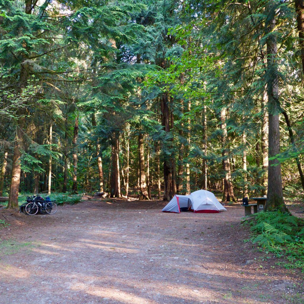 Camping à Hope