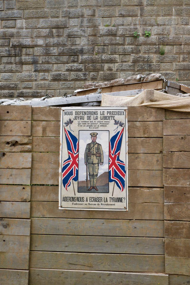 Affiche de la Première guerre mondiale